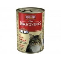Animonda Brocconis Sığır Etli Kümes Hayvanlı Yetişkin Kedi Konservesi 400 Gr