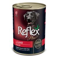 Reflex Plus Kuzu Etli Konserve Yetişkin Köpek Maması 400 gr