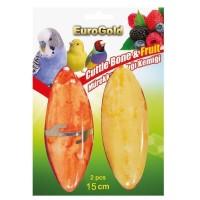Euro Gold Mürekkep Balığı Kemiği Meyve Aromalı 2'li 15 Cm