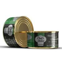 Chefs Choice Soslu Kıyılmış Dana Etli Konserve Kedi Maması 85 Gr