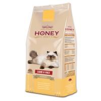 Honey Premium Gurme Kuzu Etli Pirinçli Yetişkin Kedi Maması 15 Kg