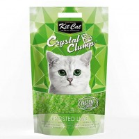 Kit Cat Frosted Lime Topaklanan Limon Kokulu Silika Kedi Kumu 4 Lt