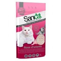 Sanicat Rose Bentonit Ultra Topaklaşan Kedi Kumu 5 lt