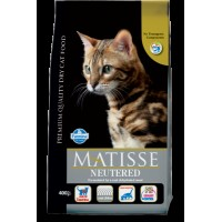 Matisse Kısırlaştırılmış Tavuklu Yetişkin Kedi Maması 1.5 Kg