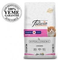 Felicia High Premium Low Grain Düşük Tahıllı Tavuklu-Hamsili Yavru Kedi Maması 12 Kg