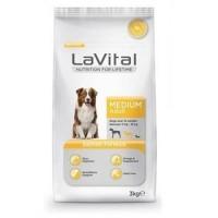 La Vital Dog Adult Medium Orta Irk Somon Balıklı Yetişkin Köpek Maması 3 Kg