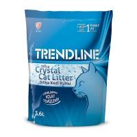 Trendline Süper Emici Tozsuz Silika Kristal Kedi Kumu 3.6 Lt 1,4 Kg