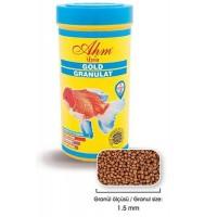 Ahm Gold Granulat Japon Balığı Yemi 100 ml