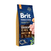 Brit Premıum By Nature Adult M Tavuklu Orta Irk Yetişkin Köpek Maması 15 Kg