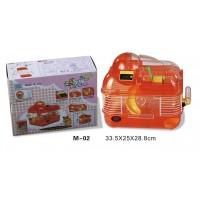 Dayang Hamster Kafesi Sayaçlı  33X25X28.8 Cm