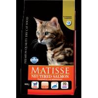 Matisse Kısırlaştırılmış Somonlu Yetişkin Kedi Maması 1.5 Kg
