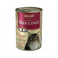 Animonda Brocconis Kümes Hayvanlı Yürekli Yetişkin Kedi Konservesi 400 Gr