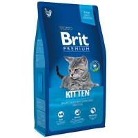 Brit Premium Kitten Tavuk ve Somonlu Yavru Kedi Maması 8 Kg
