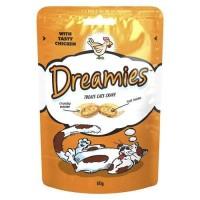Dreamies İçi Dolgulu Tavuklu Kıtır Kedi Ödülü 60 Gr