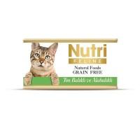 Nutri Feline Ton Balıklı Ve Alabalıklı Tahılsız Yetişkin Kedi Konservesi 85 Gr