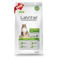 La Vital Cat Maintenance Adult Chicken Formula Yetişkin Kedi Maması 1.5Kg