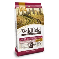 Wildfield Tavuklu ve Ördekli Tahılsız Yetişkin Orta ve Büyük Irk Köpek Maması 12 kg