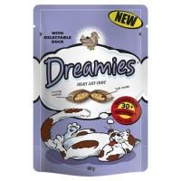 Dreamies İçi Dolgulu Ördekli Kıtır Kedi Ödülü 60 Gr