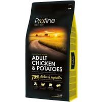 Profine Adult Chicken Az Tahilli Hipoalerjenik Tavuk&Patatesli Yetişkin Köpek Mamasi 15 Kg