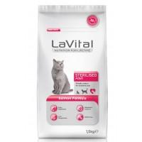 La Vital Cat Adult Sterilised Somon Balikli Kisirlaştirilmiş Kedi Mamasi 1.5 Kg