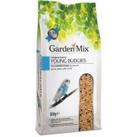Gardenmix Platin Yavru Muhabbet Kuş Yemi 500 Gr