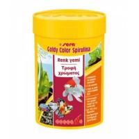 Sera Goldy Color Spirulina Japon Balik Yemi 100 ml  39 Gr