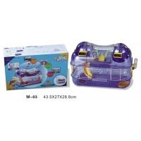 Dayang Hamster Kafesi Sayaçlı  43X27X28.8 Cm