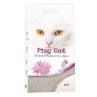 Pisy Cat Bebek Pudralı Tozsuz Topaklaşan İnce Kedi Kumu 5 Lt