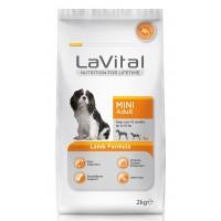 La Vital Dog Adult Mini Küçük Irk Kuzu Etli Yetişkin Köpek Mamasi 2 Kg