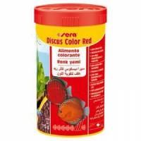 Sera Discus Color Red Kirmizi Discus Balik Yemi 250 ml  112 Gr