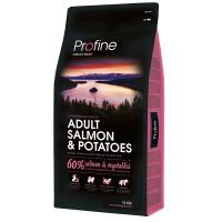 Profine Salmon Az Tahıllı Hipoalerjenik Somon & Patatesli Yetişkin Köpek Maması 15 Kg