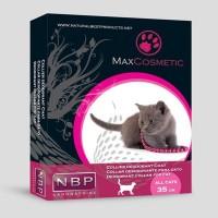 *Max Cosmetic Kediler İçin Parfümlü Boyun Tasması 35 cm