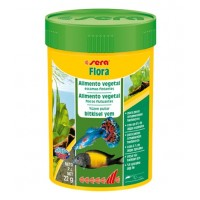 Sera Flora Balik Yemi 100 ml  22 Gr