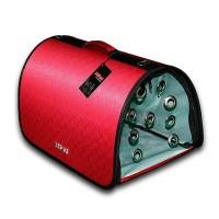 Lepus Flybag Kedi ve Köpek Ekose Seyahat Çantası Kırmızı 25x40x25h cm
