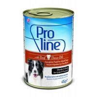Proline Soslu Biftekli Yetişkin Köpek Konservesi 415 Gr
