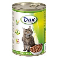 Dax Tavşanlı Kedi Konservesi 415 Gr