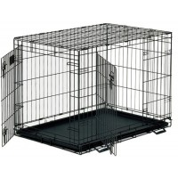*Dayang 044-C Katlanabilir Metal Kedi Köpek Kafesi 108X69X78 Cm