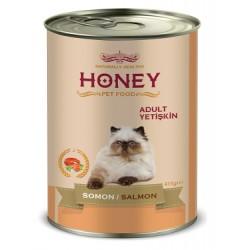 Honey Premium Somonlu Yetişkin Kedi Konservesi 415 Gr