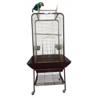 Dayang Papağan Eğitim Kafesi Ayaklı 59X59X152 Cm