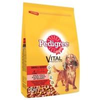 Pedigree Biftekli Sebzeli Küçük Irk Yetişkin Köpek Mamasi 2 Kg