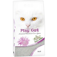 Pisy Cat Bahar Kokulu Tozsuz Topaklaşan İnce Kedi Kumu 5 Lt