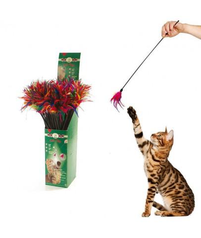 Karlie Tüylü Kedi Oltası 59 cm