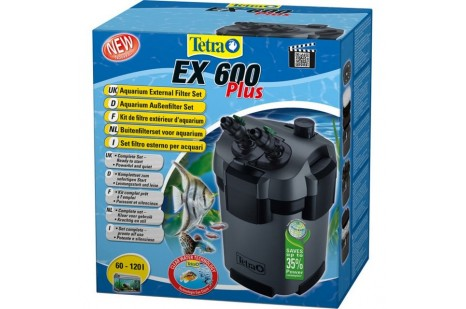 Tetra Tec Ex 600 Plus Akvaryum Dış Filtre 600 L/s-7,5 W