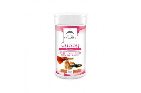 White Balance Guppy Granules 100 ml