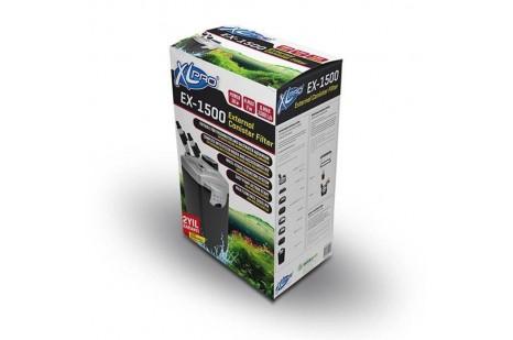 XLPRO EX-1500 DIŞ FİLTRE 1500L/H 36W (DOLU)